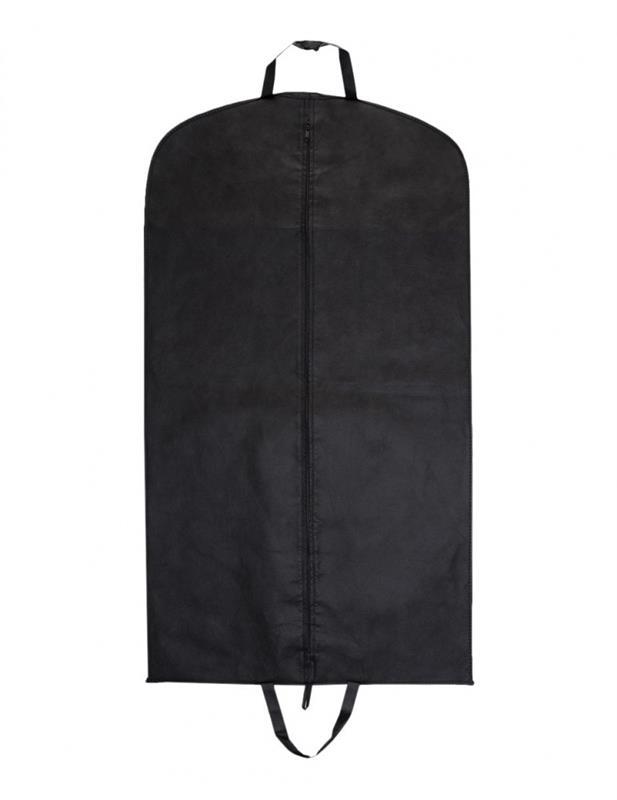 copriabiti in tnt nero con zip mod. soffietto nero