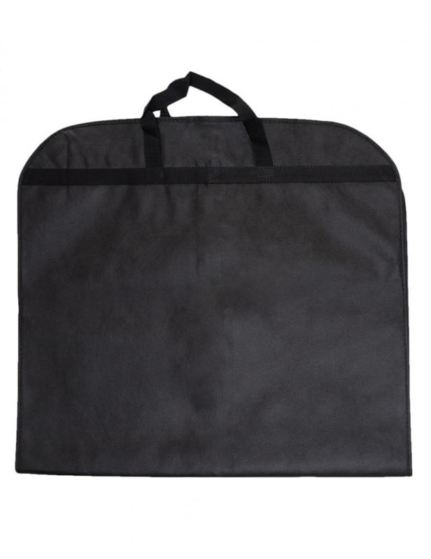 copriabiti in tnt 60x110 con zip mod. elegant nero