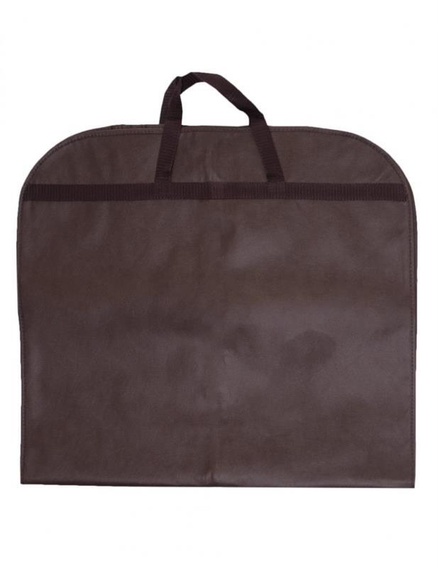 copriabiti in tnt 60x110 con zip mod. elegant marrone