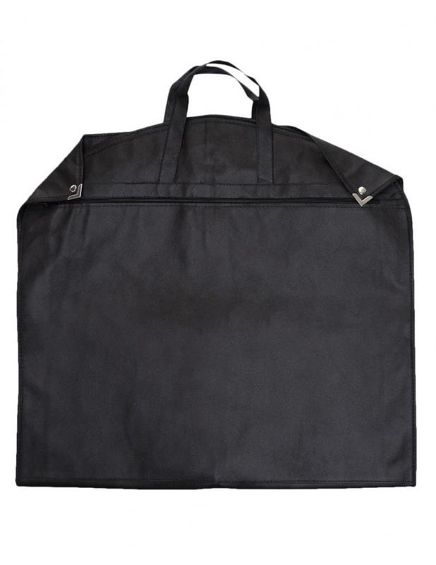 copriabiti in tnt con angolari e zip mod. luxury nero