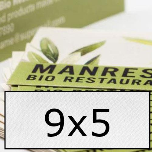 biglietti da visita in carta speciale 9x5