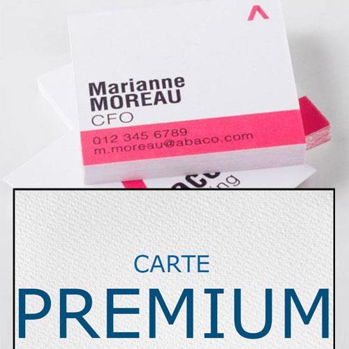 biglietti da visita quadrati in carta speciale