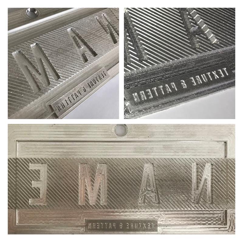 impianto stampa a caldo in lega di alluminio con spalla da 6mm