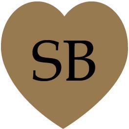 etichetta sagomata cuore gold
