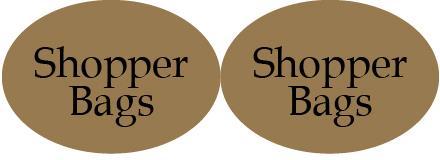 etichetta sagomata ovale doppio gold