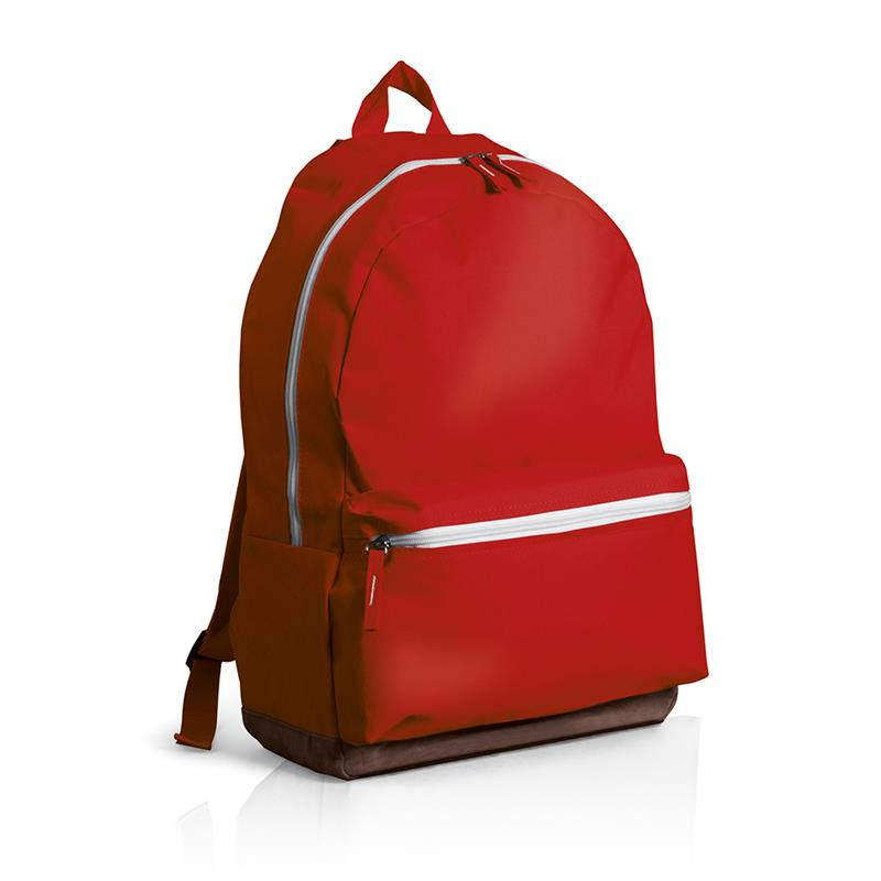 49a168166b Vendita Online zaino in tessuto rosso con fondo in similpelle ...