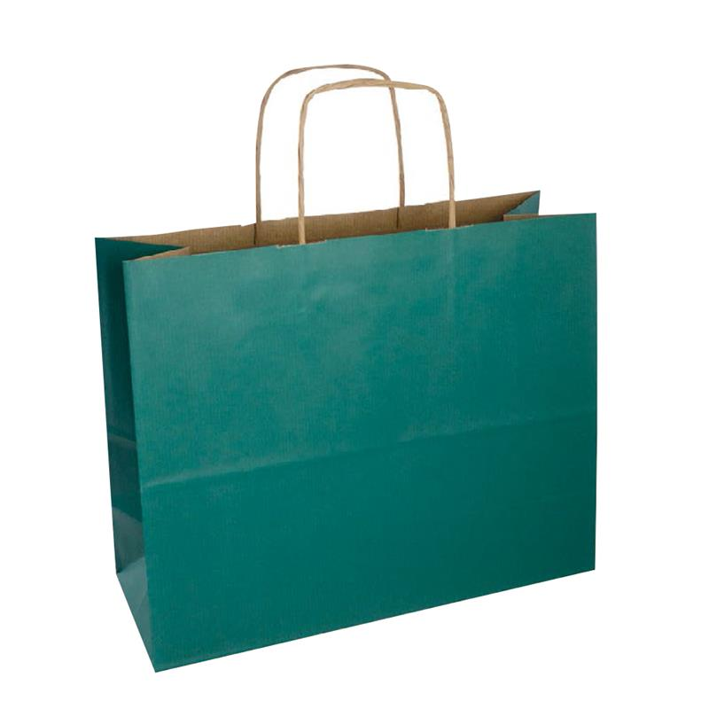 shopper sealing avana stampa oceano manici carta ritorta