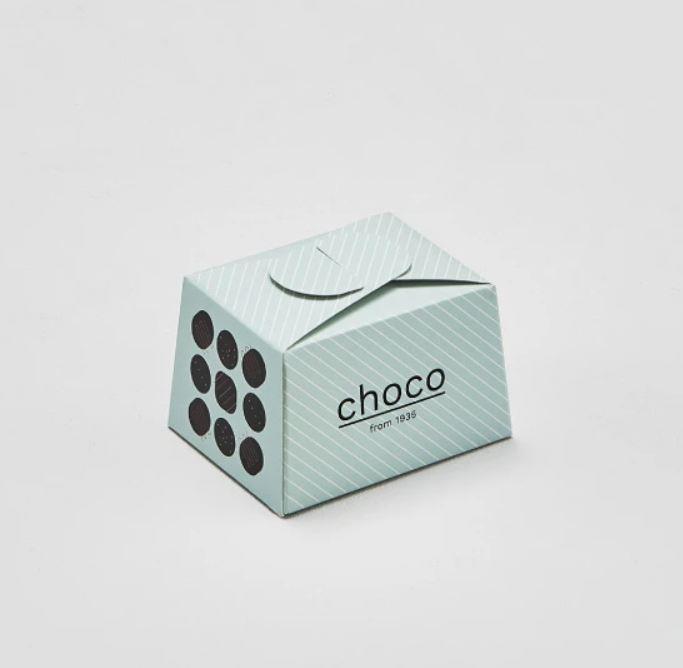 bauletti personalizzati per uso alimentare con chiusura a fiocco