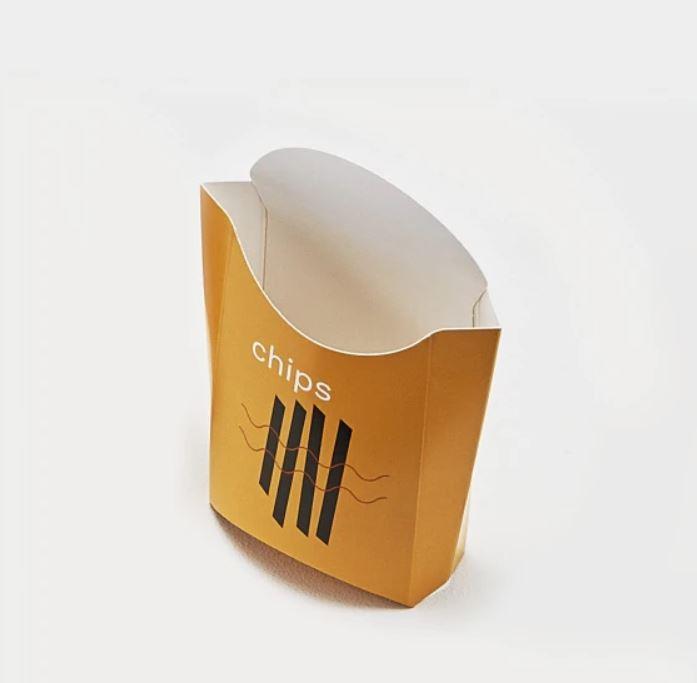 secchiello alimentare in cartoncino personalizzato - mod. sacca