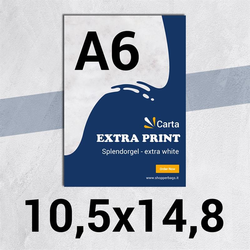 volantini & flyer in carta extraprint splendorgel f.to a6