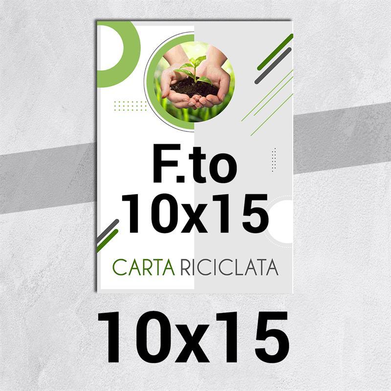 volantini & flyer in carta riciclata f.to 10x15