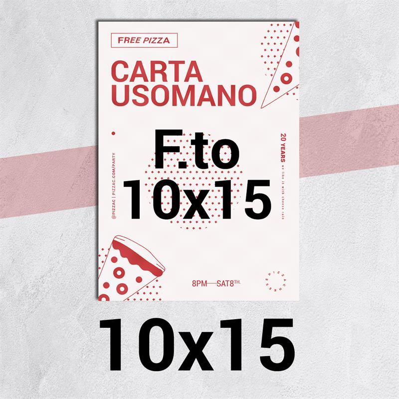 volantini & flyer in carta classic usomano 90gr. f.to 10x15