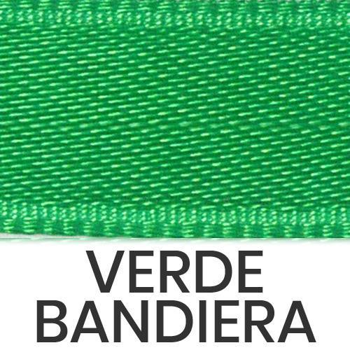 cod. 62-32 doppio raso lucido verde bandiera
