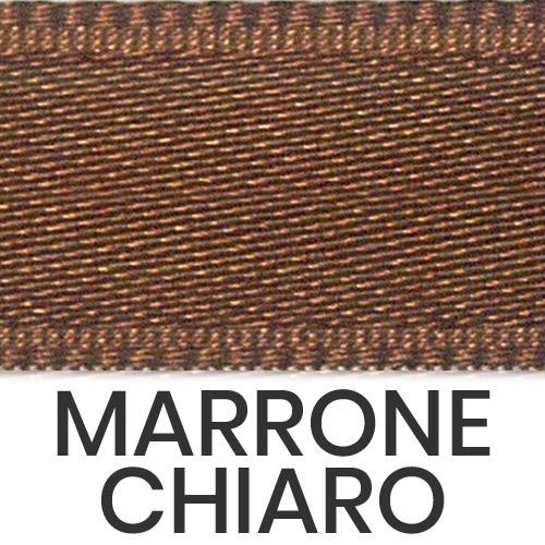 cod. 19-44 doppio raso lucido marrone chiaro