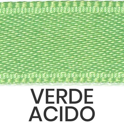 cod. 63-548 doppio raso lucido verde acido