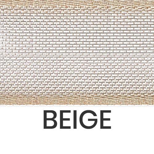 cod. 26-2 organza con bordi beige