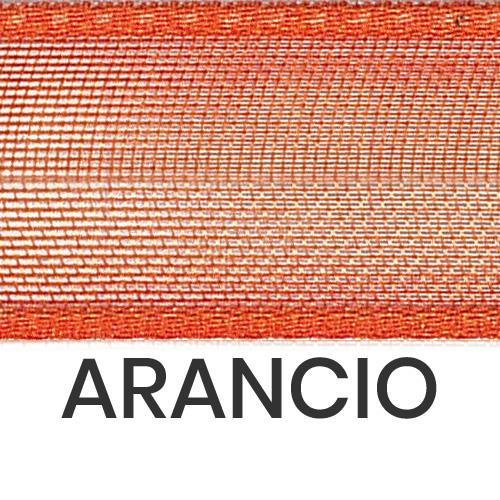 cod. 27-41 organza con bordi arancio