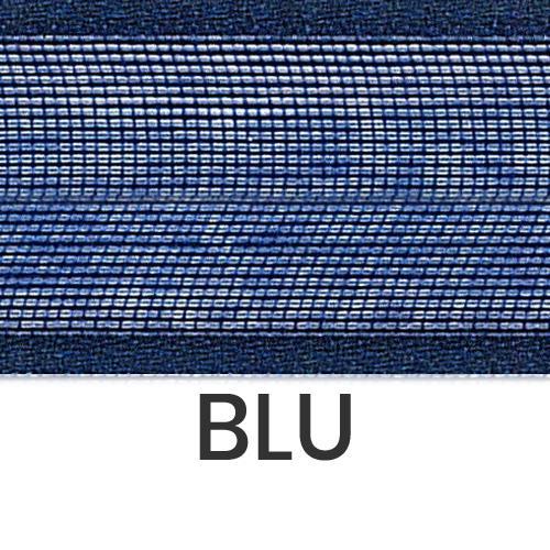 cod. 07-426 organza con bordi blu