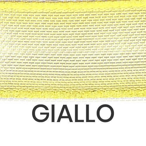 cod. 22-428 organza con bordi giallo