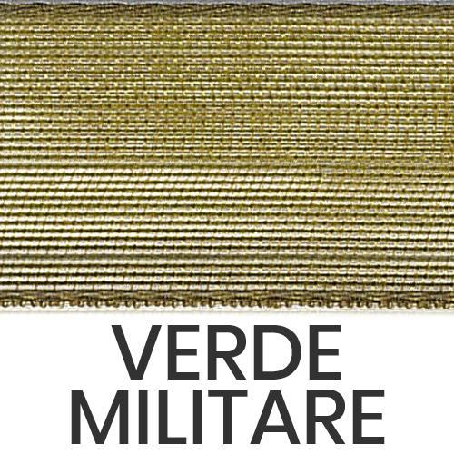 cod. 19-39 organza senza bordi verde militare