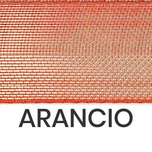 cod. 27-41 organza senza bordi arancio