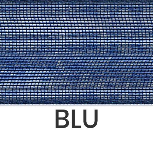 cod. 07-426 organza senza bordi blu