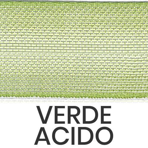 cod. 20-548 organza senza bordi verde acido
