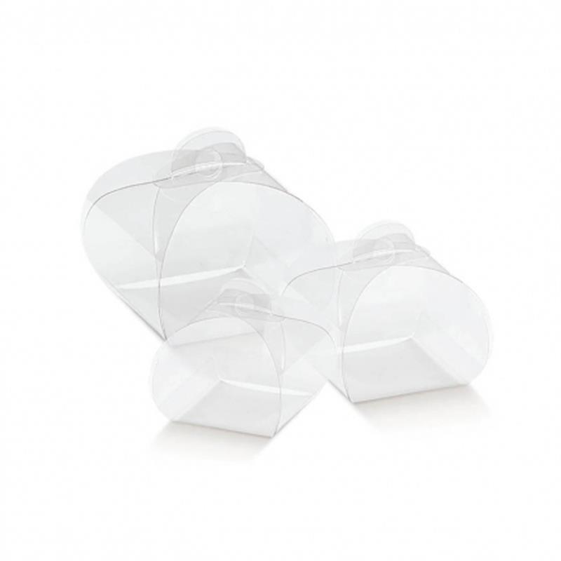 scatola tortina pvc alimentare trasparente