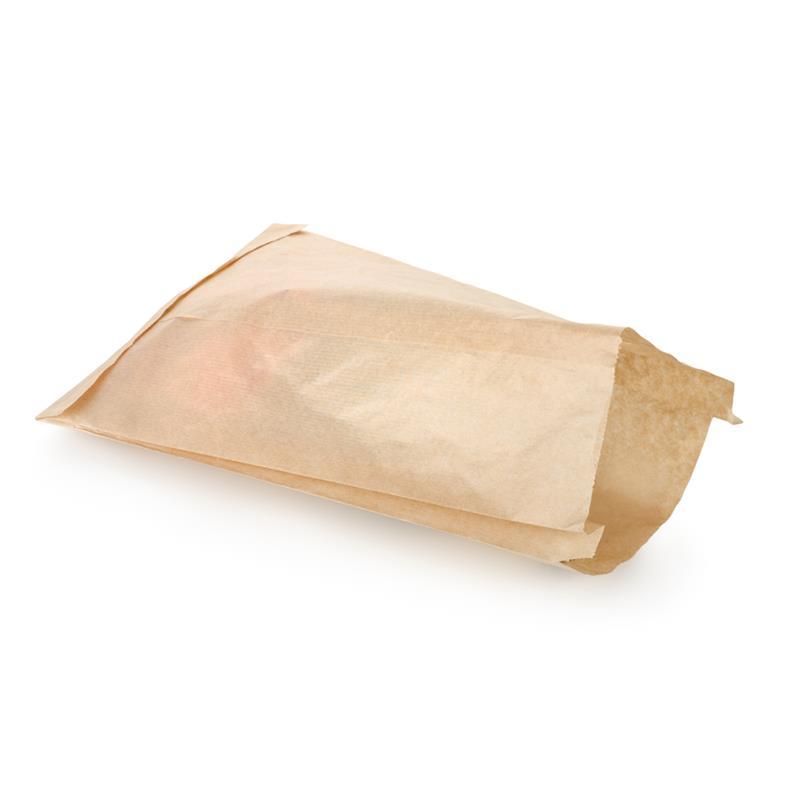 sacchetto per alimenti in carta sealing avana