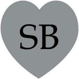etichetta sagomata cuore silver