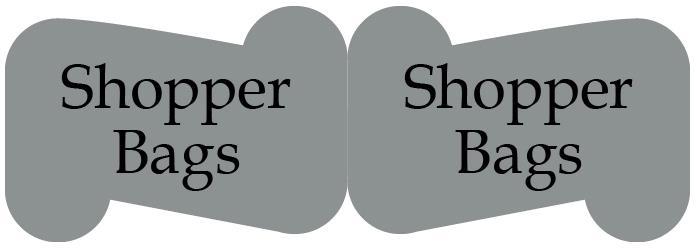 etichetta sagomata doppio cartiglio silver