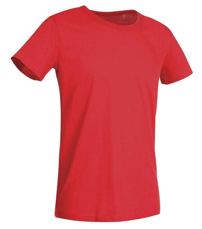 t-shirt da uomo in jersey bianco crema con girocollo