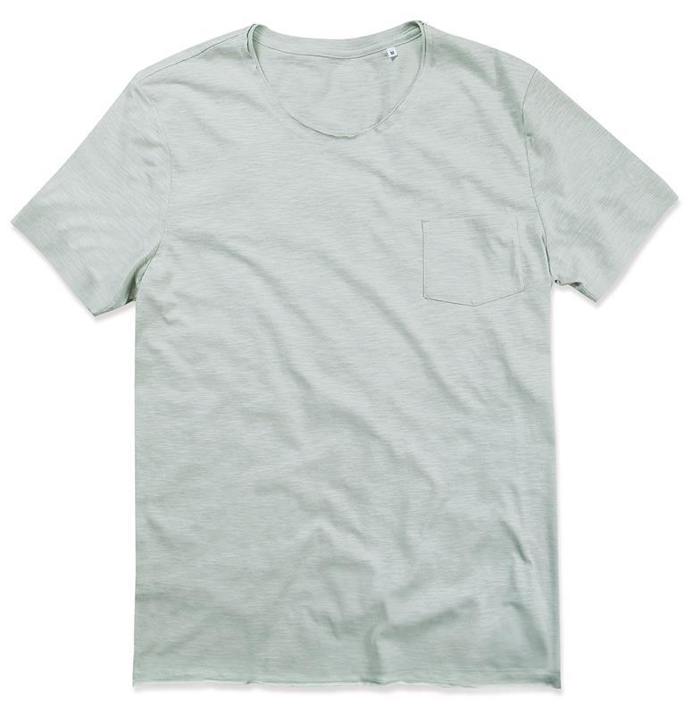 t-shirt oversize da uomo in cotone grigio polvere maniche corte