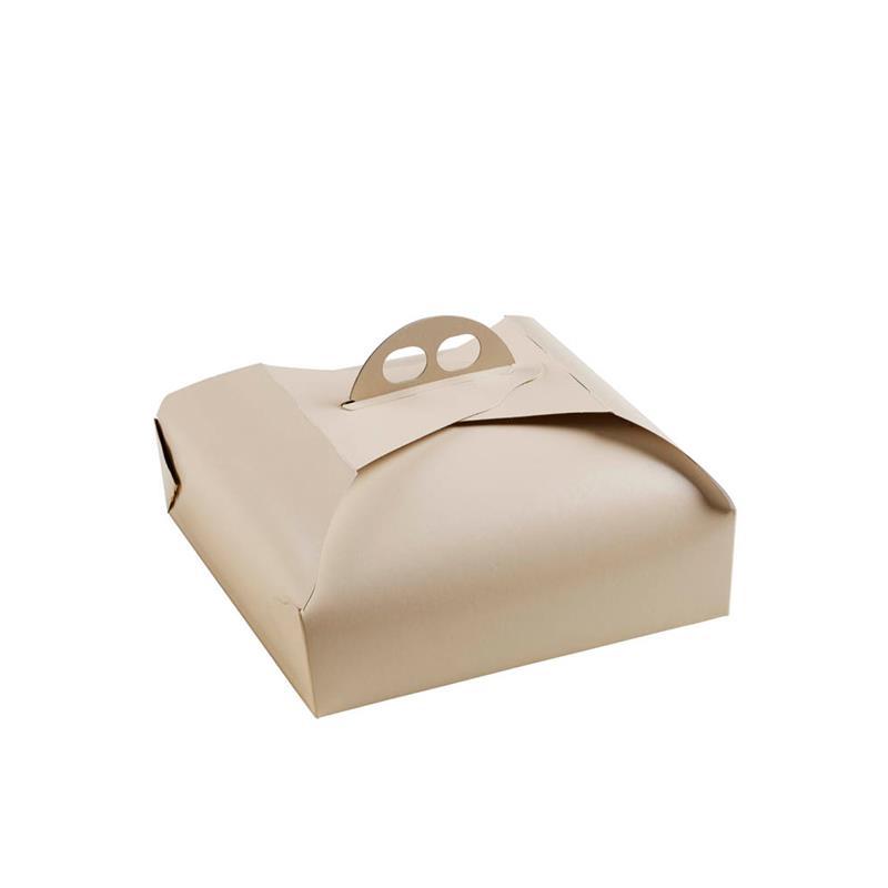 scatola per torta con manico fustellato