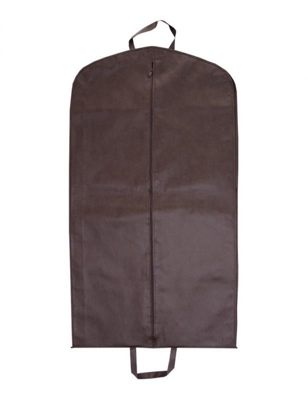 copriabiti in tnt con zip mod. soffietto marrone