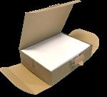 SCATOLA E-COMMERCE PACKAGING COLLEZIONE DELIVERY BOX SCATOLA BOX DELIVERY PER SPEDIZIONI